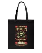Princess Cook Shirt Tote Bag thumbnail