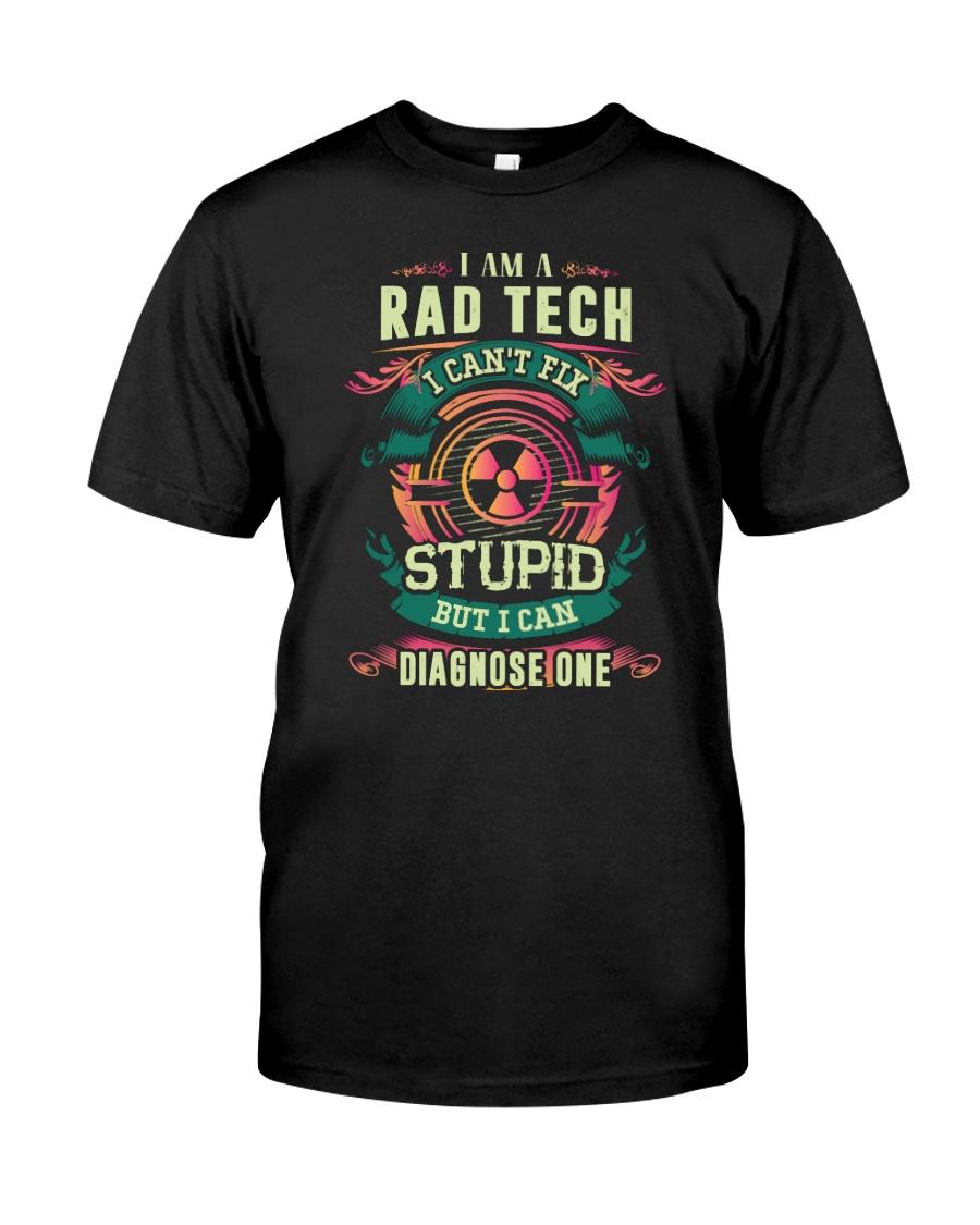 Rad Tech can fix Stupid Shirt Premium Fit Mens Tee