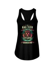 Rad Tech can fix Stupid Shirt Ladies Flowy Tank thumbnail