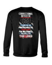 Proud Correctional Officer Shirt Crewneck Sweatshirt thumbnail