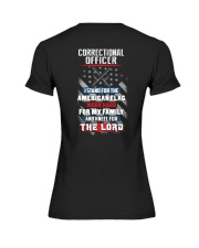Proud Correctional Officer Shirt Premium Fit Ladies Tee thumbnail