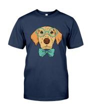 Cool Hipster Dog Shirt Classic T-Shirt thumbnail