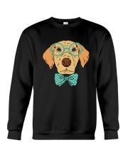 Cool Hipster Dog Shirt Crewneck Sweatshirt thumbnail