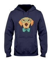 Cool Hipster Dog Shirt Hooded Sweatshirt thumbnail