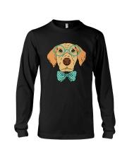Cool Hipster Dog Shirt Long Sleeve Tee thumbnail