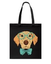 Cool Hipster Dog Shirt Tote Bag thumbnail