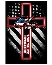 Proud Tow Truck Operator Shirt 16x24 Poster thumbnail