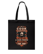 Crazy Cook Shirt Tote Bag thumbnail