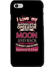 I love my Forklift Operator to the Moon Phone Case thumbnail