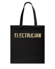 I'm a Electrician and i'm always right Tote Bag thumbnail