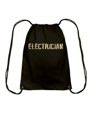 I'm a Electrician and i'm always right Drawstring Bag thumbnail