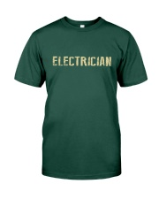 I'm a Electrician and i'm always right Premium Fit Mens Tee front