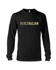 I'm a Electrician and i'm always right Long Sleeve Tee thumbnail