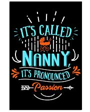 Proud Nanny Shirt Vertical Poster tile