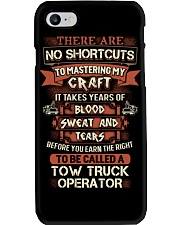 Earn the right to be a Tow Truck Operator shirt Phone Case thumbnail