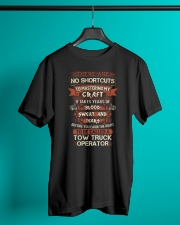 Earn the right to be a Tow Truck Operator shirt Classic T-Shirt lifestyle-mens-crewneck-front-3