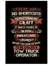 Earn the right to be a Tow Truck Operator shirt 16x24 Poster thumbnail