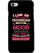 I love my Technician to the Moon Phone Case thumbnail
