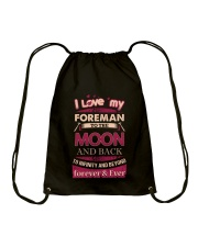 I love my Foreman to the Moon Drawstring Bag thumbnail