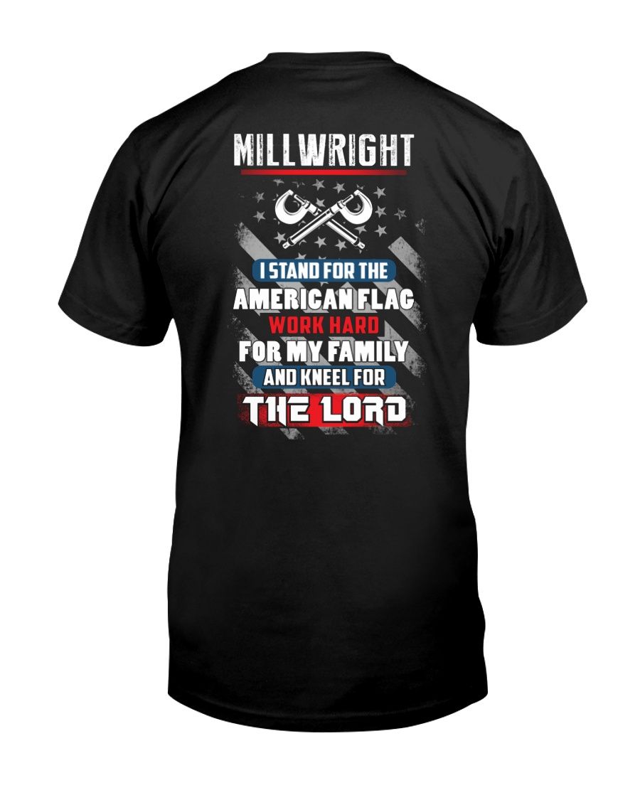 Proud Millwright Shirt Premium Fit Mens Tee