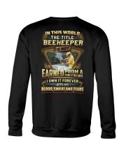 Proud Beekeeper Shirt Crewneck Sweatshirt thumbnail
