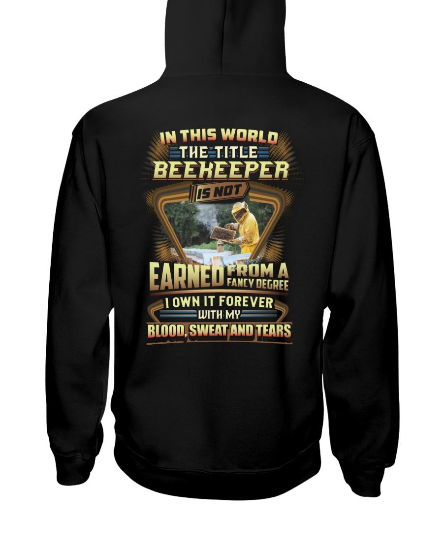 Proud Beekeeper Shirt Hooded Sweatshirt