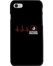 Daycare Provider Heartbeat shirt Phone Case thumbnail