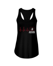 Daycare Provider Heartbeat shirt Ladies Flowy Tank thumbnail