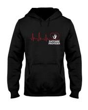 Daycare Provider Heartbeat shirt Hooded Sweatshirt thumbnail