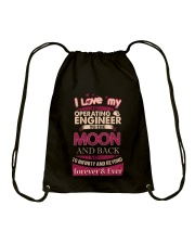 I love my Operating Engineer to the Moon Drawstring Bag thumbnail