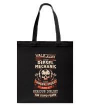 Angry Diesel Mechanic Shirt Tote Bag thumbnail