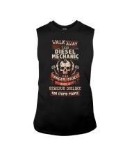 Angry Diesel Mechanic Shirt Sleeveless Tee thumbnail