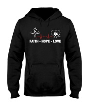 FAITH-HOPE-LOVE-PHARMACIST Hooded Sweatshirt thumbnail