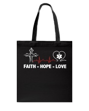FAITH-HOPE-LOVE-PHARMACIST Tote Bag thumbnail