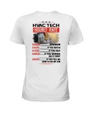 Sarcastic HVAC Tech Shirt Ladies T-Shirt thumbnail