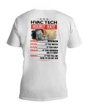 Sarcastic HVAC Tech Shirt V-Neck T-Shirt thumbnail