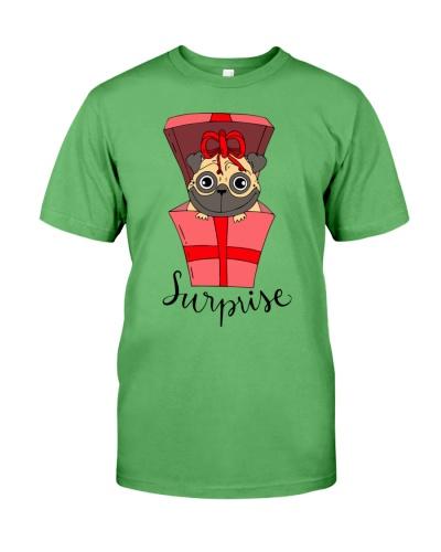 Cool Pug Surprise Shirt