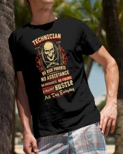 Technician- Straight Hustle all day Shirt Premium Fit Mens Tee lifestyle-mens-crewneck-front-10