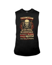 Technician- Straight Hustle all day Shirt Sleeveless Tee thumbnail