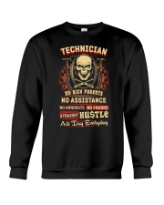 Technician- Straight Hustle all day Shirt Crewneck Sweatshirt thumbnail