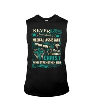 Proud Medical Assistant Shirt Sleeveless Tee thumbnail