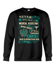 Proud Medical Assistant Shirt Crewneck Sweatshirt thumbnail