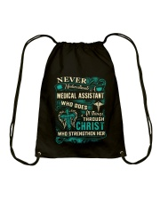 Proud Medical Assistant Shirt Drawstring Bag thumbnail