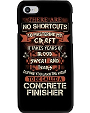 Earn the right to be a Concrete Finisher shirt Phone Case thumbnail