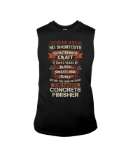 Earn the right to be a Concrete Finisher shirt Sleeveless Tee thumbnail