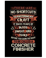 Earn the right to be a Concrete Finisher shirt 16x24 Poster thumbnail