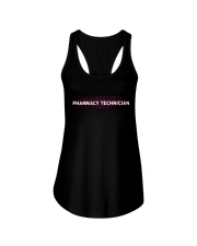 Custom Pharmacy Technician Leggings Ladies Flowy Tank thumbnail