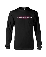 Custom Pharmacy Technician Leggings Long Sleeve Tee thumbnail
