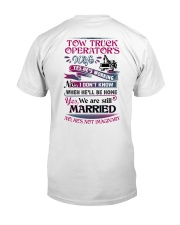 Awesome Tow Truck Operator's Wife Shirt Classic T-Shirt tile