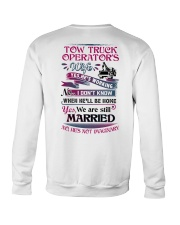 Awesome Tow Truck Operator's Wife Shirt Crewneck Sweatshirt thumbnail